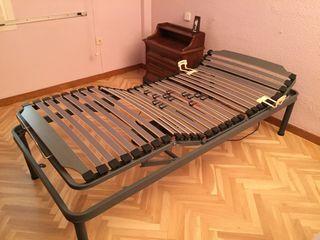 Cama articulada de 90 cms mas colchón