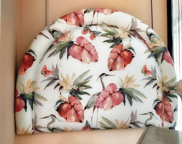 Cabecero tapizado cama 90