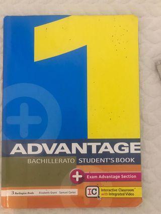Libro Inglés Advantage 1 Bachillerato