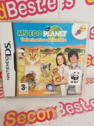 Nintendo DS My eco planet Veterinarios al rescate