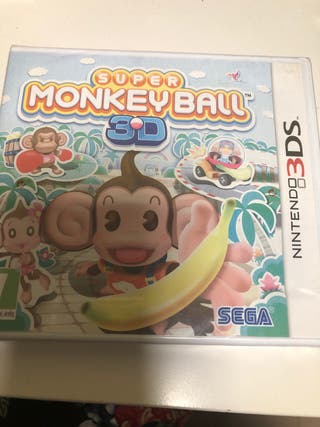 Vídeo jugo súper Monkey ball Nintendo 3Ds o 2Ds