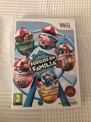 Juegos en Familia 3 Wii