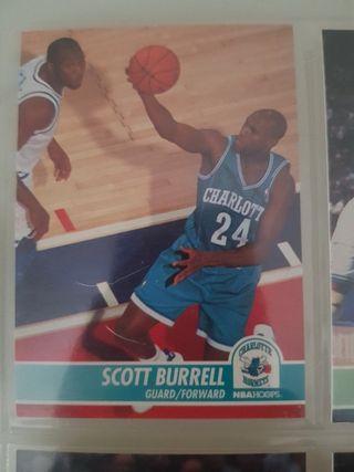 Trading card SCOTT BURRELL (Charlotte Hornets) #17