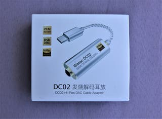 DAC/amplificador para auriculares iBasso DC-02