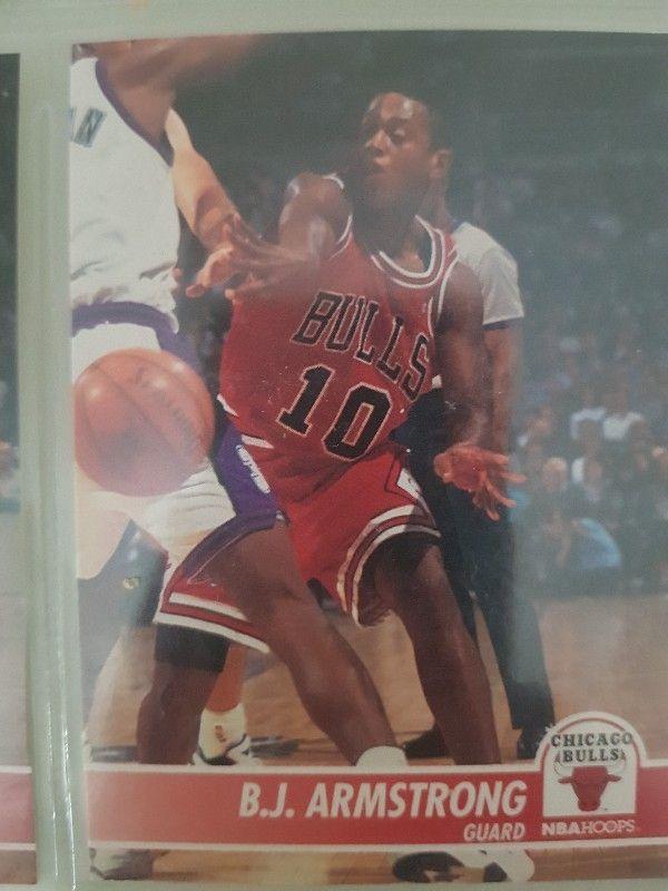 Trading card B. J. ARMSTRONG (Chicago Bulls) #23