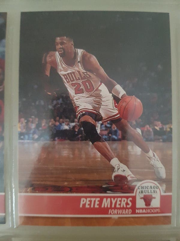 Trading card PETE MYERS (Chicago Bulls) #29
