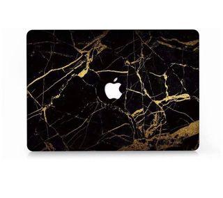 "Funda MacBook Pro 13"" negro marmol"
