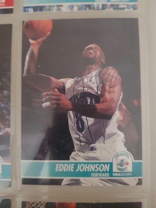 Trading card EDDIE JOHNSON (Charlotte Hornets) #20