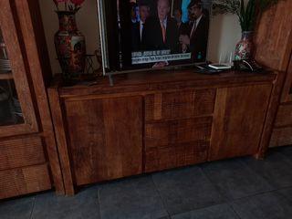 vendo mueble de madera madera de brasil