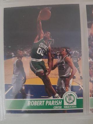 Trading card ROBERT PARISH (Boston Celtics) #13
