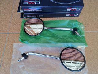 Espejos Cromados Vespa LX 50-125-150