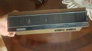 Radio SONY despertador vintage