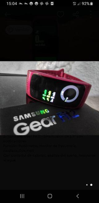 Pulsera Samsung Gear fit 2