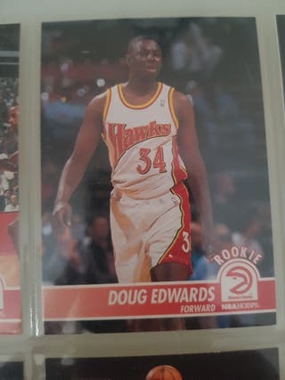 Trading card Rookie Card DOUG EDWARDS #3