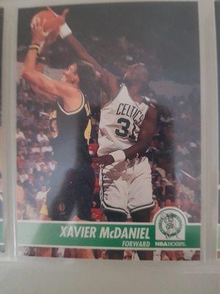 Trading card XAVIER McDANIEL (Boston Celtics) #12