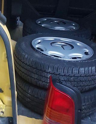 Ruedas + neumáticos mercedes Vito