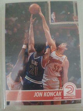 Trading card JON KONCAK (Atlanta Hawks) #5