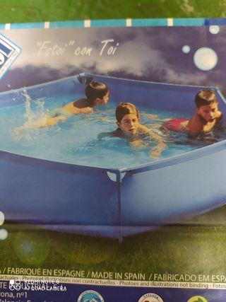 piscina hexagonal de 2,30 metros