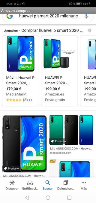 Huawei p smart 2020.