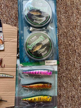 Fishing set up-joblot