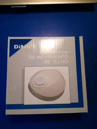 DETECTOR DE MOVIMIENTO TECHO DINUY