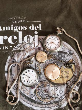 Reloj de bolsillo vintage original