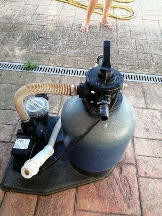 Depuradora para piscina+bomba de piscina.