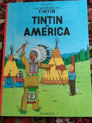Tintín in America