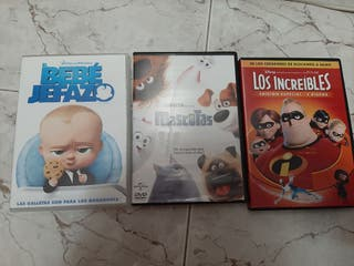 vendo peliculas infantiles DVD