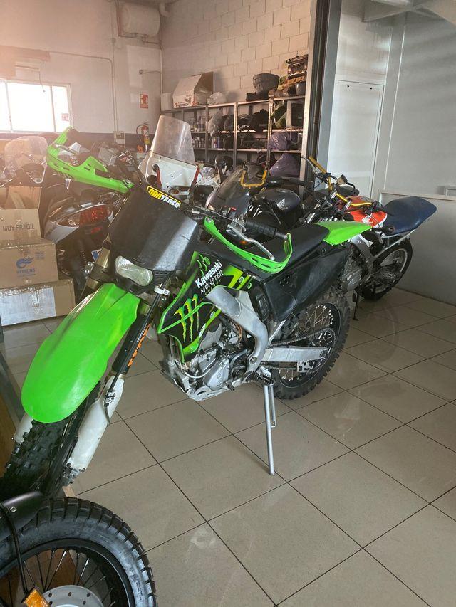 Kawasaki cross 250cc 4t