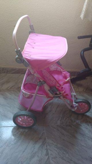 se vende carrito para muñecas