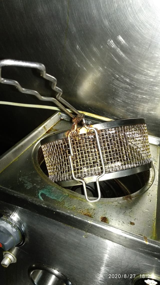 Freidora industrial Jemi. Con 2 cestas