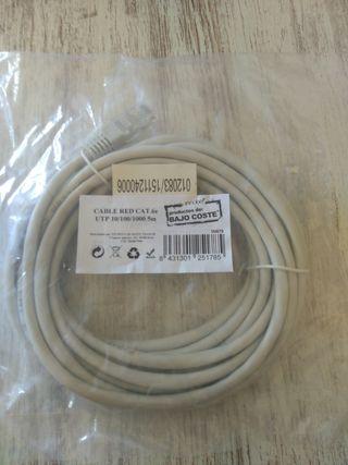Cable de red 5 metros categoría 6