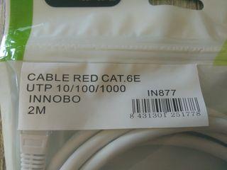 Cable de red 2m categoría 6