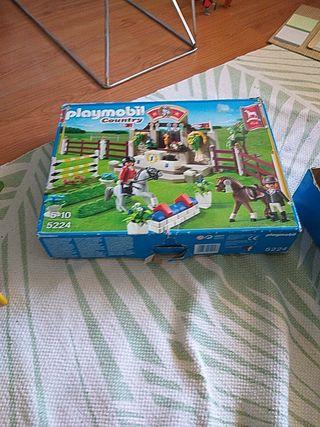 Playmobil escuela de hípica