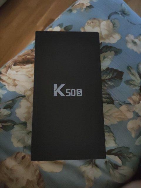 LG K50s negro SIN ESTRENAR, PRECINTADO