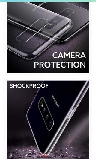 Funda transparente Samsung Galaxy S10 nueva