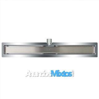 Desagüe lineal de ducha baldosa 80 cm acero inoxid