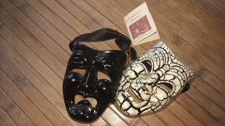 Máscaras venecianas artesanas: certificado.
