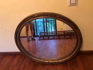 Espejo ovalado vintage