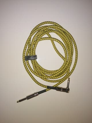 cable 6,3 guitarra asmuse 3 metros