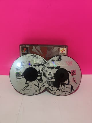 VIDEO JUEGO PS1 METAL GEAR SOLID