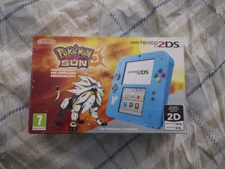 Nintendo 2ds + pokemon sol