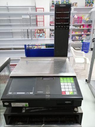 Báscula caja registradora MOBBA