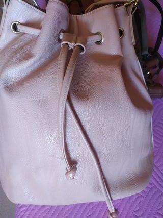 Bolso bandolera rosado