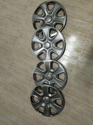 Tapacubos Ford originales 15 pulgadas