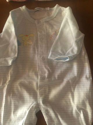 Lote 2 pijamas talla 0 meses algodón