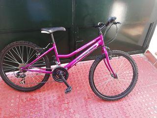 bicicleta niña. 24pulgadas
