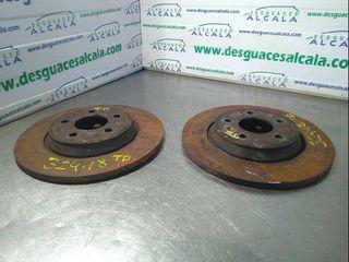 872343 Disco freno trasero AUDI A5 COUPE (8T) 3.0