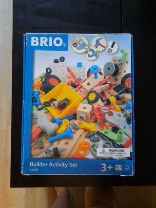 Juego de construcción Brio y caja herramientas